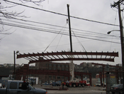 Pedersen Building Systems- Bus Canopy Hoboken, NJ