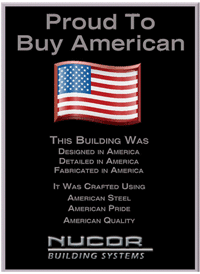 Proud to be american - Pedersen Building Systems
